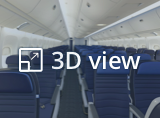 Open 3D view from United Economy Plus cabin. This will open in a new tab.